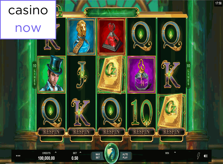 Canadian Online Casino with Book of Oz