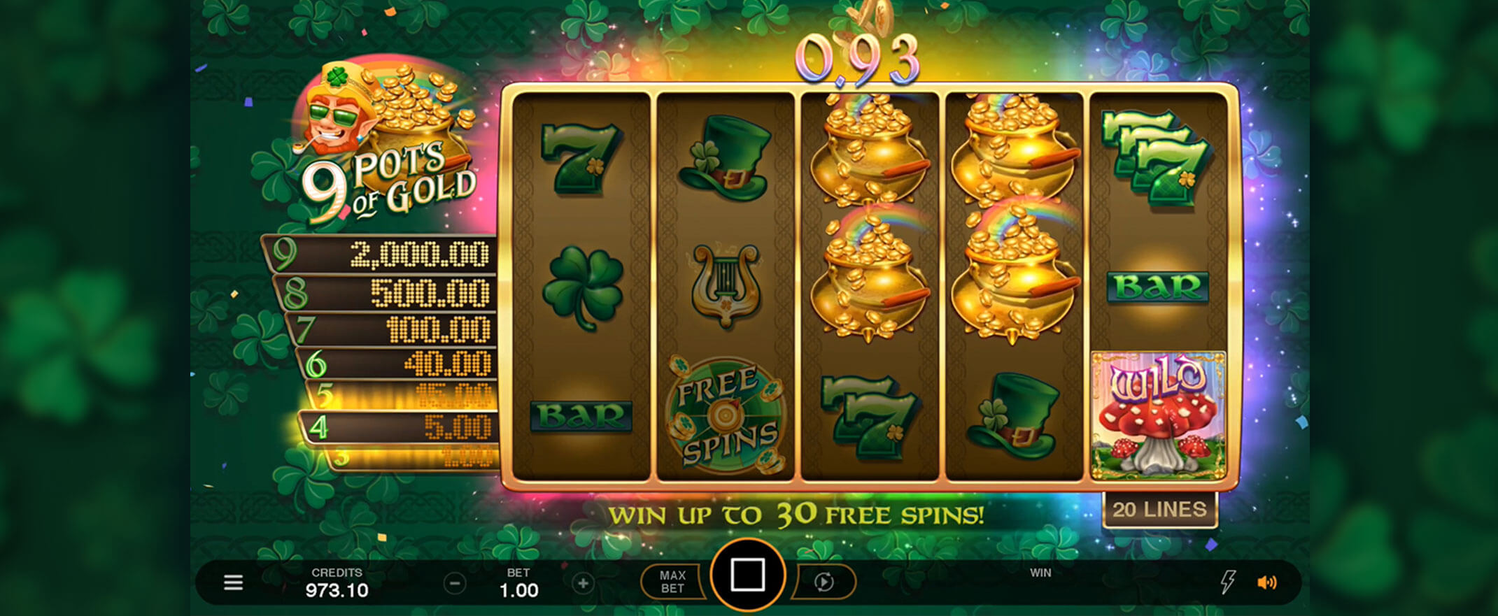 Slots Casino Pot of Gold and Others