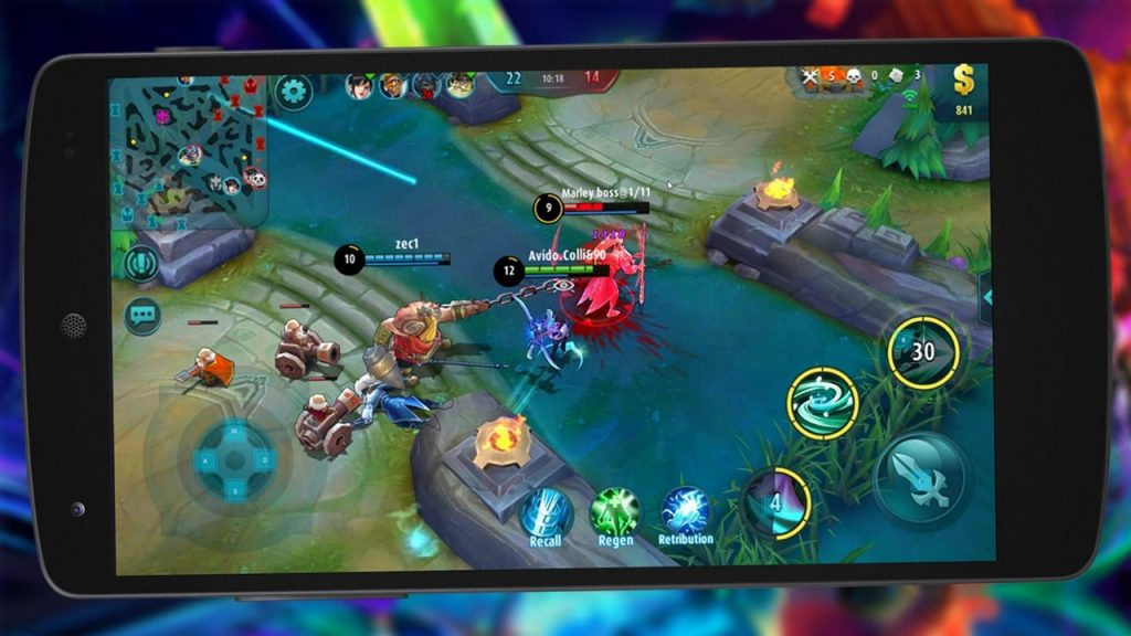 Top 5 Moba Games Mobile