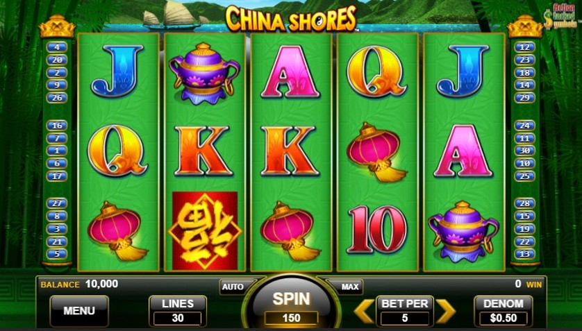 What Online Casino Has China Shores